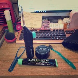 Carbon Coco Teeth Whitening Set